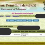 EPOS Telangana Ration Card Status Check | Food Security Card Search