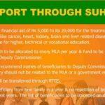 Suhrid Scheme 2021 Assam MLA Medical / Education Scholarship Form pdf