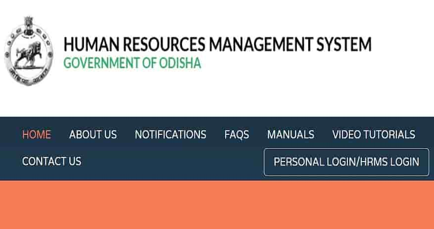 HRMS Odisha Payslip