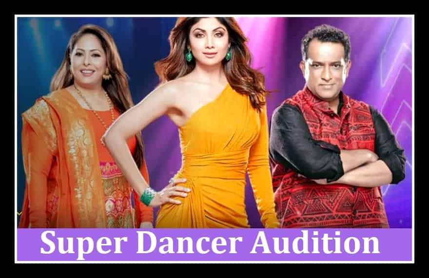 Super Dancer Audition